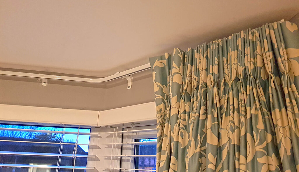 Bay Window Curtain Track